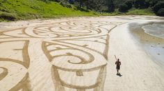 A young Maori artist in the North is overwhelmed by attention received over his ta moko (tattoo) design along Piapia beach.