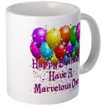 Happy Birthday Mug 4u! Mug  http://www.cafepress.com/lovepositivethinking/9110897