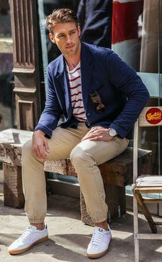 http://chicerman.com  parfaitgentleman:  everything besides the scrunchy pants.  #menscasual