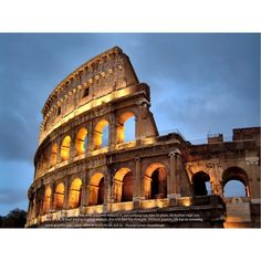 Seven Wonders of the World: Colosseum - Backpacking