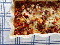 Sausage Potato Bake Recipe from Grandmother's Kitchen