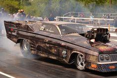 Huntsville Dragway The Fast and Furious Pro Mod Throwdown Outlaw Racing, Drag Racing, Race Night, Chevy Nova, Street Racing, Drag Cars, Car Humor, Monster, Looks Cool