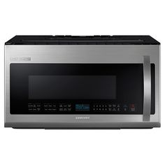 Samsung Chief Collection ft Over-The-Range Microwave Sensor Cooking Controls (Stainless Steel) (Common: Actual Microwave Oven, Pantry Inspiration, Cool Kitchens, Cool Things To Buy, Kitchen Appliances, Stainless Steel