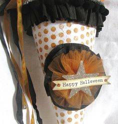 Halloween Cone   Flickr