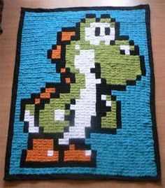 Sprite Stich - fantastic blog/forum for video game crafts... crochet, knit, sew, cross stich, bead work, quilting, etc but its all video game related... i think i'm in love...