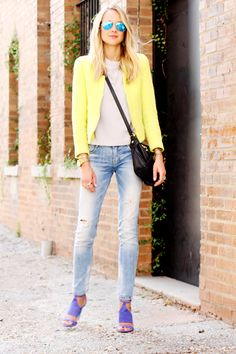 Yellow Blazer #fashionjackson
