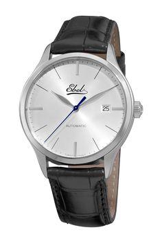 Ebel Men's Classic Leather Watch on @HauteLook