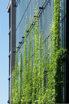 Sihlcity Carpark Facade – covers 8 stories at a width of 25 meters.