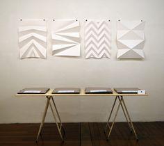 Estúdio Campo - Série de posters dobrados a mão