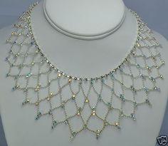 Kirks Folly Crystal Necklace | eBay