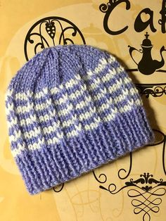 6a6e4996a02 Duet Baby Hat By Marianna Mel - Free Knitting Pattern - (ravelry)