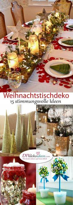 Weihnachtstischdeko Ideen, die deine Gäste verzaubern werden