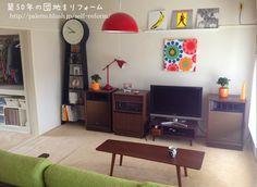 ローテーブル joined リビング!http://palette.blush.jp/self-reform/2013/06/noce-joined.html
