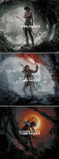 Lara Croft's origin trilogy