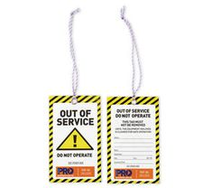 Hazard Tapes & Tags - Safety Tags for Equipment & Workplace