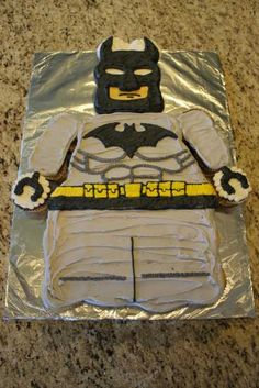 Batman Lego Cupcake Cake | www.lahootbakery.com