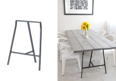 DIY – 11 kreativa ikea-hack till ditt kök – Sköna hem is creative inspiration for us. Get more photo about diy ikea decor related with by looking at photos gallery at the bottom of this page. Lerberg Ikea, Diy Esstisch, Ikea Decor, Diy Dining Table, Diy Interior, Home Furniture, Diy Home Decor, Sweet Home, Ikea Hacks