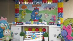 Locação Decoração Galinha Pintadinha   Hadassa Festas ABC   Elo7