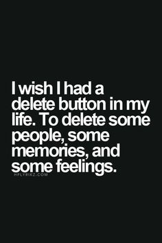 I would just delete myself…