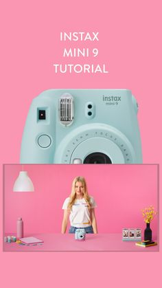 Instax Mini 9 Tutorial - You are in the right place for diy home decor Here we present diy clothes you are looking for - Polaroid Instax Mini, Fuji Instax Mini, Poloroid Camera, Polaroid Camera For Sale, Polaroid Display, Fujifilm Instax Mini 8, Slr Camera, Polaroid Camera Pictures, Instax Mini Ideas
