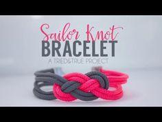 Super Easy Sailor Knot Bracelet for Valentine's Day - Tried & True