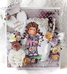 Tilda sending love, Sweet Crazy Love Collection, Magnolia stamps