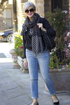 polka dots swing | Style at a certain age #overfiftyblogger