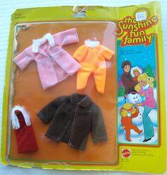 sunshine family mattel | Sunshine Family - généralités 1974 - 1982