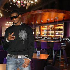 Celebrity Restaurants - Usher's very own wine bar, Grape