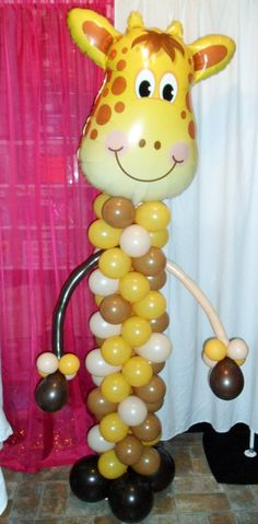 Giraffe character party decoration by CelebratetheDayparty on Etsy