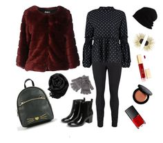 """""""Chic and Cool Saturday's wear"""" by marjolaineetvous on Polyvore featuring mode, Monki, Steve Madden, SCHA, AT.P.CO, NARS Cosmetics, Aurélie Bidermann, Gearonic et Bobbi Brown Cosmetics"""