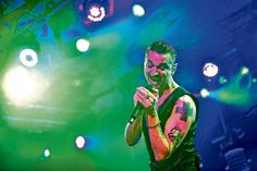 LEGENDS Depeche Mode had their fans in heaven last night, as they closed the BBC 6 Music Festival with a superb 12-song set. The Glasgow's Barrowlands gig was streamed live to millions online…