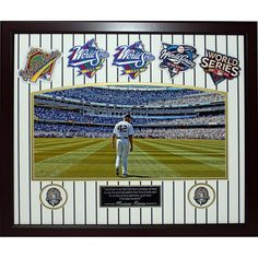 Mariano Rivera Framed Mo Day Collage w WS Patches (20x24 BW 220-WM)