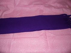 Scarf Purple beaded Fleece Scarf #Handmade #Scarf