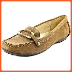 Anne Klein Women's AK7Orra Taupe Suede Loafer 7.5 M - Loafers and slip ons for women (*Amazon Partner-Link)