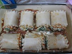 Those Who Help Themselves: Allergy Friendly Inspiration for the Busy Lifestyle: Freezer Cooking Friday: Lasagna Roll Ups!