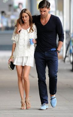 Olivia Palermo with Johannes Huebl   Celebrity-gossip.net