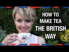 British culture is famous for tea and biscuits. Have you ever had a chance to visit? I bet you drank some great tea, and I bet you drank it like this. Watch a real British person explain how Britons make and drink tea. English Tea Time, English Food, British Party, Hp Sauce, Simply Yummy, Afternoon Tea Parties, Thinking Day, How To Make Tea, My Tea