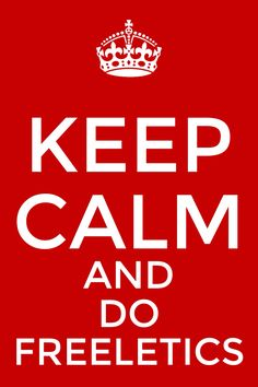 Keep calm and do freeletics!!!  Más imágenes motivantes en http://enformaconfreeletics.com