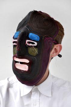 """Mascaras  """"Bertjan Pot's Rope Masks"""""""