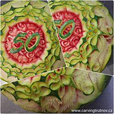 carving fruit carving birthday gift thai carving inspiration Trutnov dárek inspirace kytky květiny flower flowers dýně meloun melon