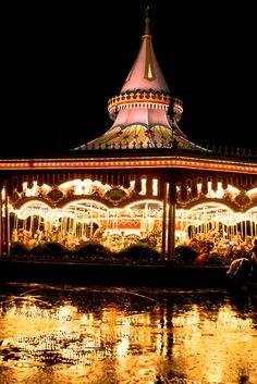 Disneyworld Fantasyland Carousel
