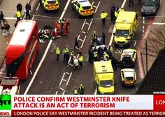 UK Parliament In Code Red Lockdown As Muslim Terror Attackers Mows Down Crowd With Car, Stabs Police