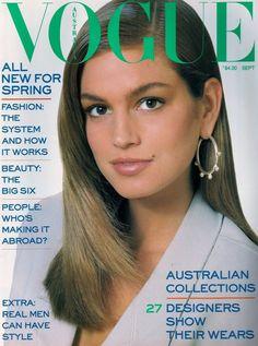 Cindy Crawford for Vogue Australia September 1987