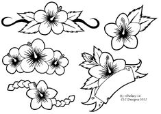 More Comments : Simple Flower Tattoos Hawaiian Flower Tattoos, Hibiscus Flower Tattoos, Tiny Flower Tattoos, Flower Tattoo Designs, Hawaiian Flowers, Hibiscus Flowers, Flower Designs, Simple Flower Drawing, Simple Flower Tattoo