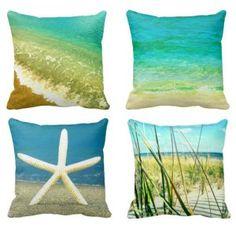 Beach Ocean Pillows