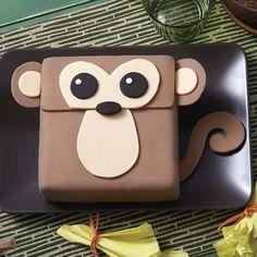 Fondant Monkey Cake