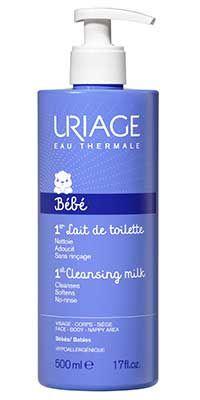 غسول يورياج للبشرة الدهنية و ازالة المكياج Uriage Cleanser For Makeup Removal And Oily Skin 2 بخاخ يورياج بال Hand Soap Bottle Lotion Soap