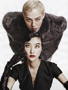 VOGUE KOREA, G-Dragon, Park Ji-Hye, Kim Young-Jun #20s #hair