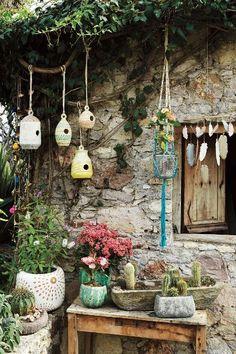 Basketweave Birdhouse - www.anthropologie.com/anthro/index.jsp #anthrofave